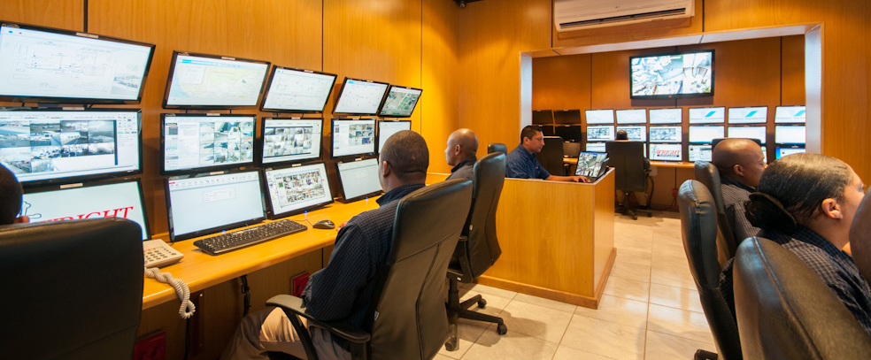 offsite CCTV control room